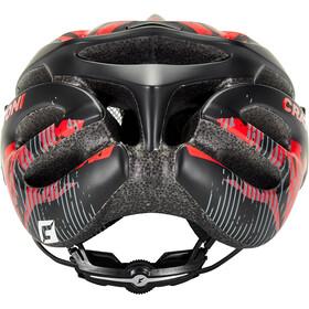 Cratoni Pacer Casco Mtb, black/red matte